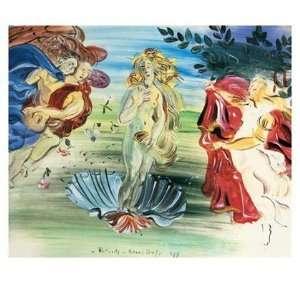 Birth of Venus by Raoul Dufy 32x28