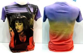 Pulp Fiction 90s Pop Culture Rock T Shirt Uma Thurman M