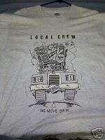 1993 ZZ TOP ANTENNA TOUR Rare Crew Shirt