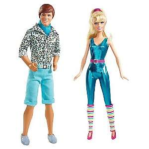 Mattel Toy Story 3 Barbie and Ken Dolls