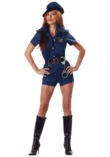 Womens Police Officer Costume   Sexy Cop Halloween Costumes