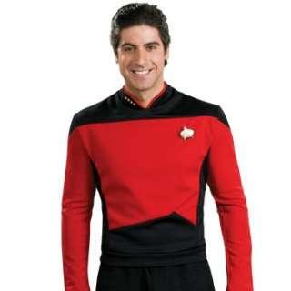Star Trek Next Generation Deluxe Red Shirt Adult Costume, 60276