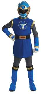 Girls Deluxe Blue Ranger Costume   Power Rangers Costumes