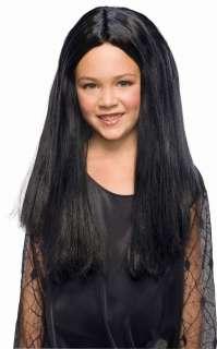 Girls Morticia Wig   Costume Wigs