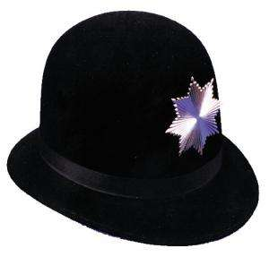 Deluxe Keystone Cop Hat   Accessories & Makeup