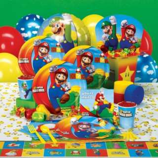 Super Mario Bros. Party Supplies Ratings & Reviews   BuyCostumes