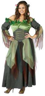 Mother Nature Plus Size Adult Costume  Gaia Halloween Costume