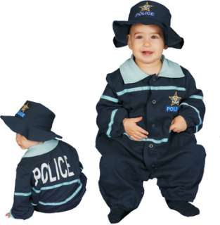 Baby Police Officer (Kids Costume)