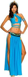 Playboy Cleopatra Adult Costume   Includes Top, skirt with attached