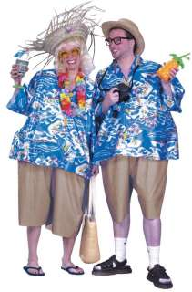 Adult Tacky Traveler Costume   Funny Halloween Costumes   15FW1099