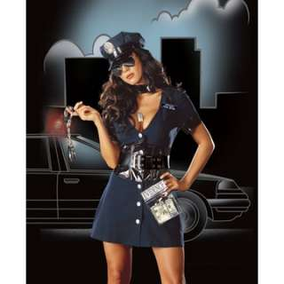 Adult Sexy Corrupt Cop Costume   Sexy Police Officer Costumes