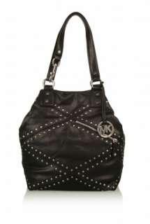 Black Pasadena Studded Shoulder Bag by MICHAEL Michael Kors   Black