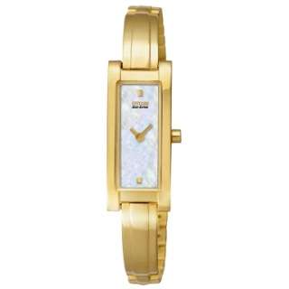 Citizen Womens EG2652 59D Eco Drive Mother of Pearl Gold Tone Watch