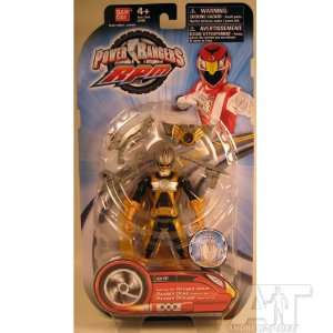 Power Rangers RPM Throttle Max Ranger Gold (New Round Packaging) Toys