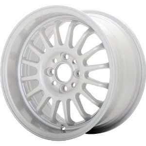 Konig Retrack White Pearl Wheel (15x7/4x100mm