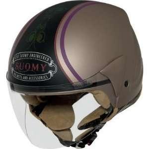 Suomy Jet Light Helmet , Color Bronze/Black, Size XS