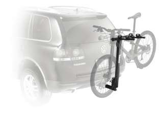The Parkway 2 Bike Hitch Mount Carrier Rack mounted on a car