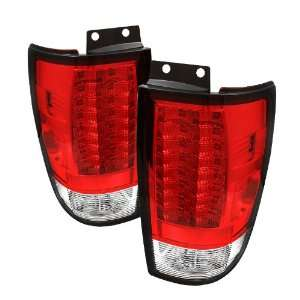 + Hi Power White LED Backup Lights   Red Smoke (Pair) Automotive