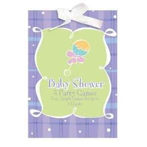 Baby Shower Plaid Game Book LIMITED QUANTITY Everything
