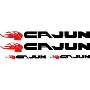 Cajun Bass Boat Vinyl Decal Restoration Kit 4 Decal Kit 40 Pro. Grade