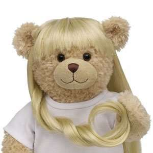 Build A Bear Workshop Glow In the Dark Blonde Wig  Toys & Games