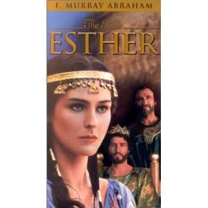The Bible   Esther [VHS]: Louise Lombard, F. Murray