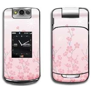 Pink Cherry Blossom Skin for Blackberry Pearl Flip 8220