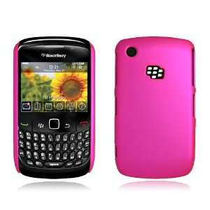 BLACKBERRY CURVE 8520/8530/9300/9330 HOT PINK BACK COVER