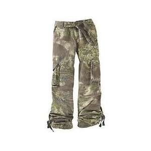 Realtree Ladies Camouflage Cargo Pants   Large 14 16