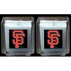 San Francisco Giants Set of 2 Candles