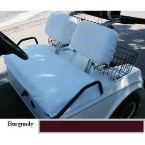 com Three Piece Regular Set Golf Cart Seat Covers (Club Car Golf Cars