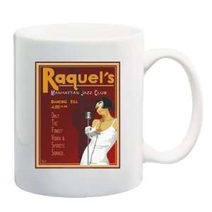 RAQUELS MANHATTAN JAZZ CLUB Mug Coffee Cup 11 oz