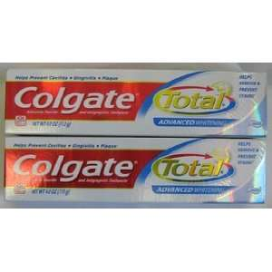 Colgate Total Advanced Clean Plus Whitening Toothpaste, 4