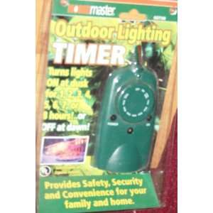 Home Master Outdoor Lighting Timer Model HOT 100 Patio, Lawn & Garden