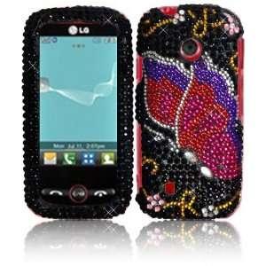 Diamond Bling Case Cover for LG Beacon MN270 Attune UN270 Exchange 270