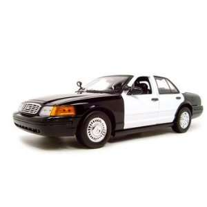 CROWN VICTORIA UNMARKED POLICE CAR 118 DIECAST MODEL Everything Else