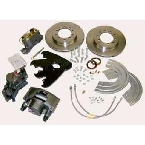 SSBC A135 3 Front Drum to Disc Brake Conversion Kit Automotive