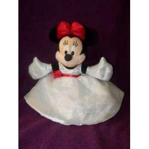 Walt Disney World Minnie Mouse in White Dress Plush 11