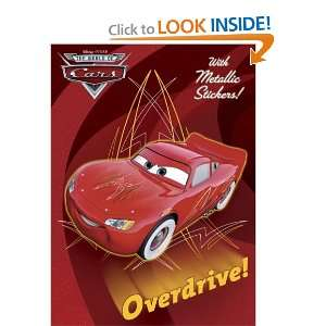 Overdrive (Disney/Pixar Cars) (Hologramatic Sticker Book