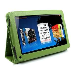 Portfolio Leather Case Cover for  Kindle Fire 7 Tablet Ebook