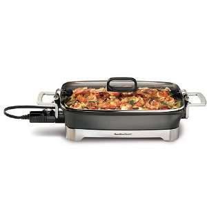 New   12 x 16 Nonstick Electric Skillet by Hamilton Beach