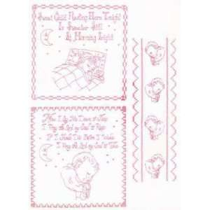Resting Hot Iron Transfer Pattern by Lace Tales Arts, Crafts & Sewing
