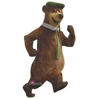 Cartoon Icon Yogi Bear, Deluxe Figure Set with Bonus Dvd, Playset Toy