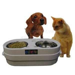 Store N Feed Jr. Dog Food and Water Bowls