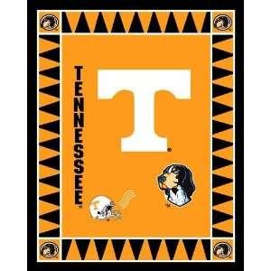 60 Wide Collegiate Fleece Panel University of Tennessee Fabric