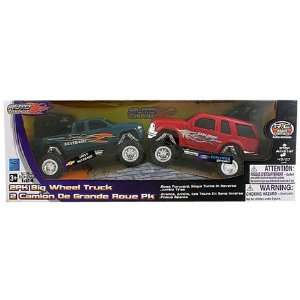 Big Wheel Trucks  Chevy Silverado & Ford Explorer Toys & Games