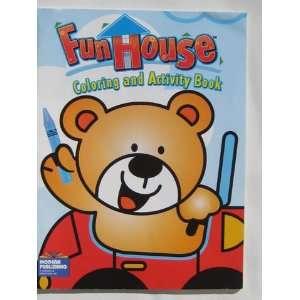 Fun House Coloring & Activity Book ~ Bear in Car Modern