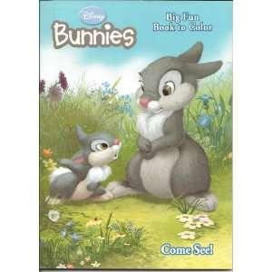 Disney Bunnies Fun Book to Color ~ Come See