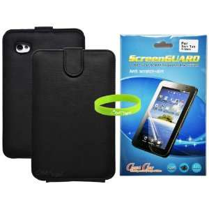 Leather Case Cover with Screen Protector for Samsung Galaxy Tab