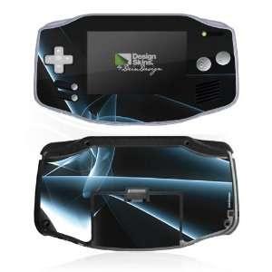 Design Skins for Nintendo Game Boy Advance   Blue Fog